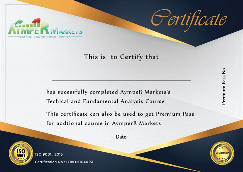 AympeR Market User Certificate